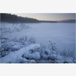 Frozen Lake Stock Image,