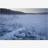 Frozen Lake Stock Image,