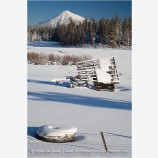 Mt. McLoughlin 6 Stock Image,
