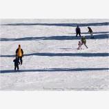 Skiers 1 Stock Image,