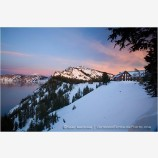 Crater Lake 5 Stock Image, Oregon