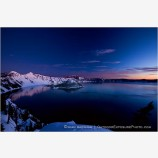 Crater Lake 6 Stock Image, Oregon