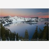 Crater Lake 7 Stock Image, Oregon