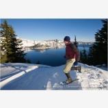 Snowshoeing 3 Stock Image,