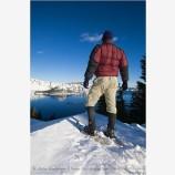 Snowshoeing 4 Stock Image,