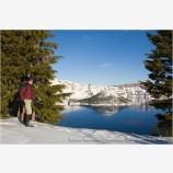 Snowshoeing 6 Stock Image,