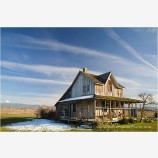 Old Wood House Stock Image, Oregon