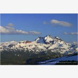 Broken Top Stock Image, Cascade Range, Oregon