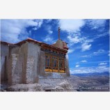 Tsaparang Palace Stock Image, Tibet