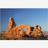 Turret Arch Stock Image, Arches National Park, Utah