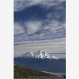 Mt. Shasta, November Stock Image, Cascade Range, California