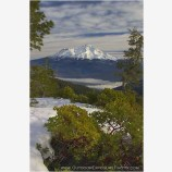 Mt. Shasta, November II Stock Image, Cascade Range, California