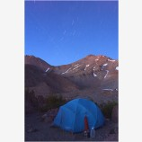 Hidden Valley Camp Stock Image, Mt. Shasta, California