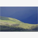 Storm Light on Grizzly Peak Stock Image, Ashland, Oregon