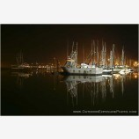 Perfect Calm Stock Image, Newport Harbor, Oregon