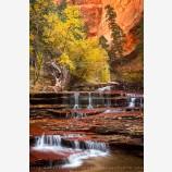 Arch Angel Falls Print, Zion, Utah