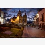 Basilica At Dawn Print, Guanajuato, Mexico