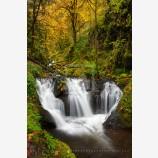 Gorton Falls Print, Columbia Gorge, Oregon