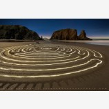 Labyrinth, Bandon, Oregon