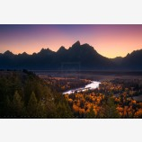 Light Of The West Print, Grand Tetons, Wyoming