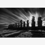 Lineage, Easter Island, Chile Print