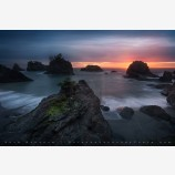 Nightfall, Samuel H Boardman Coast, Oregon