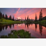 Rainier Reflection Print, Mt. Rainier National Park, Washington