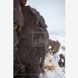 Snowy Petroglyph 2, Petroglyph Lake, Oregon