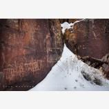 Snowy Petroglyph 3, Petroglyph Lake, Oregon