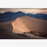 Dunes Ridge, Death Valley, California