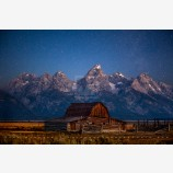 Silence Takes You Print, Grand Tetons National Park, Wyoming