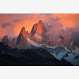 Smoking Mountain Print, Mt. Fitz Roy, Patagonia