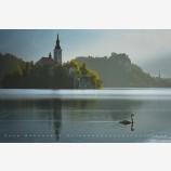 Storybook Land Print, Lake Bled, Slovenia