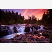 Rogue Sunrise Print, Rogue Valley, Oregon