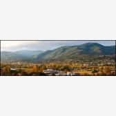 Ashland Panorama Stock Image, Ashland, Oregon