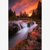 Crimson Gorge Print, Rogue River, Oregon