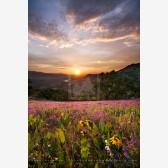 Greensprings Sunset II Print, Ashland, Oregon