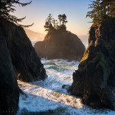 Keyhole, Samuel H Boardman Coast, Oregon
