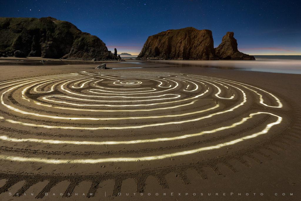 Labyrinth, Bandon, Oregon-0
