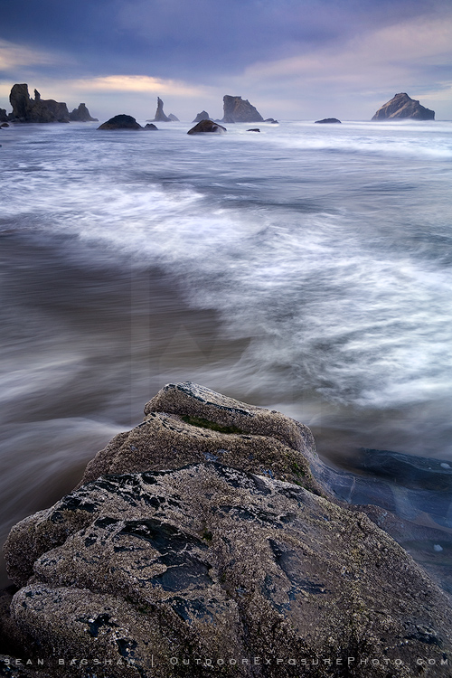 Ocean of Noise Print, Bandon, Oregon-0