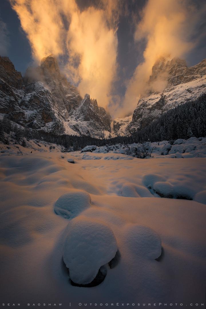 Emergence, Italian Dolomites