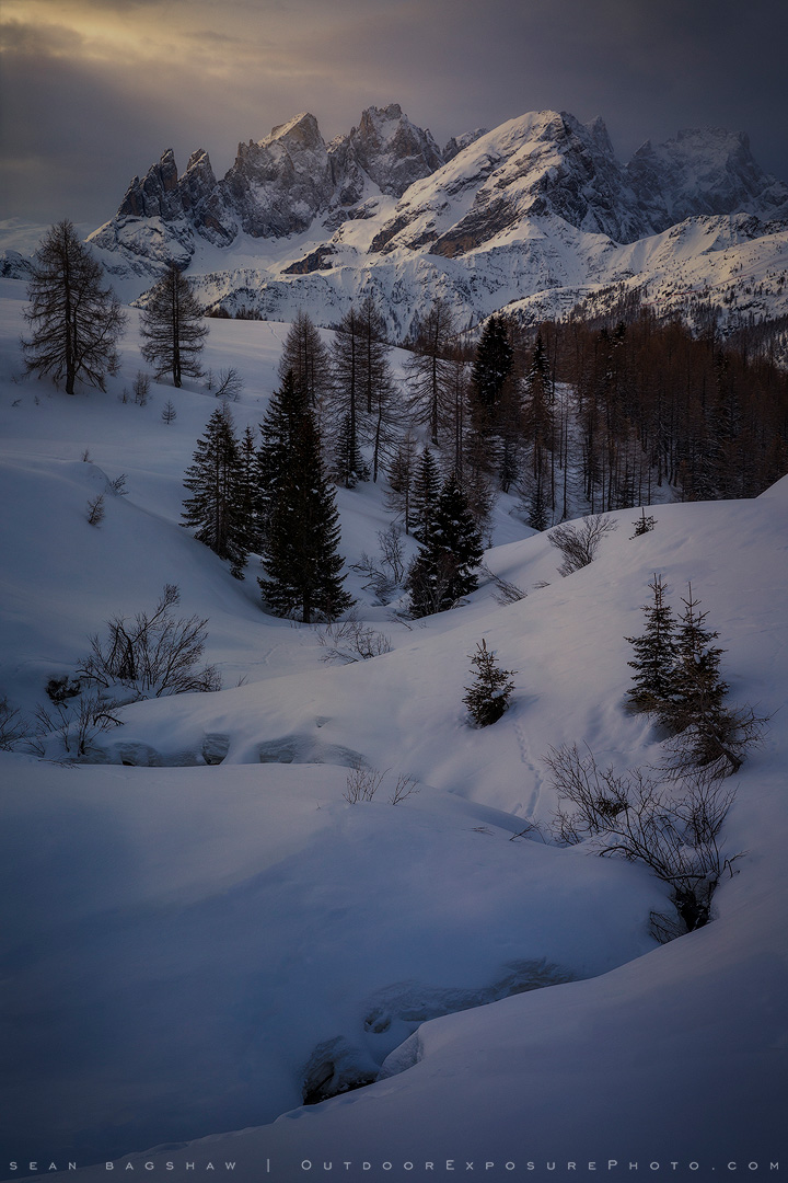 Storm Break, Italian Dolomites