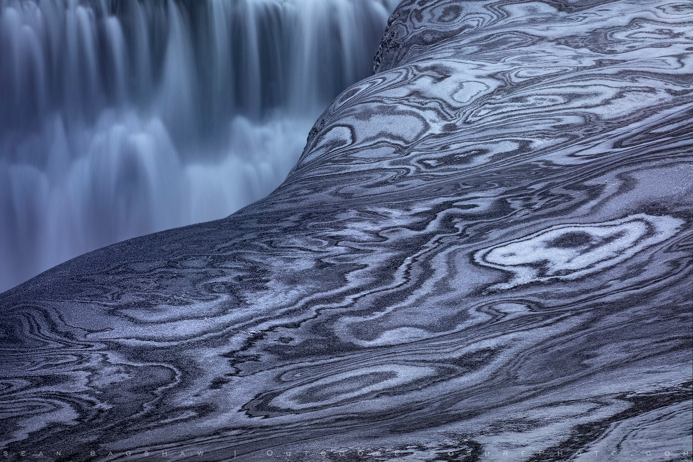 Psychedelic Dettifoss, Iceland