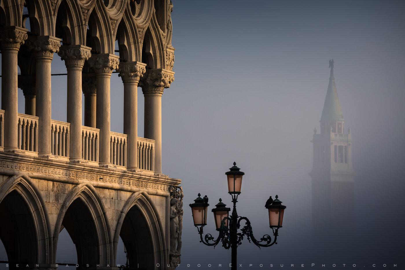 venice light and fog